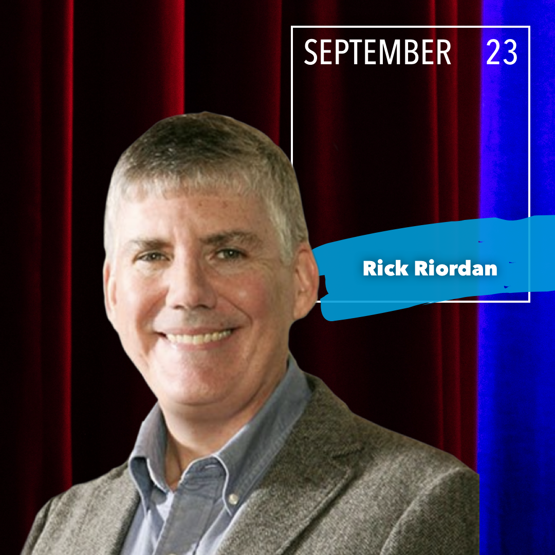 YA Author Rick Riordan