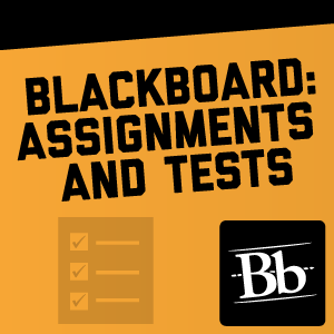 Blackboard: Assignments and Tests