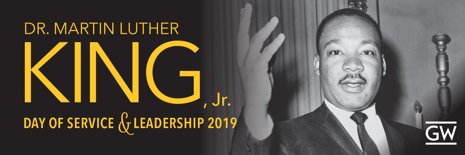Dr. Martin Luther King Jr. Day of Service and Leadership 2019