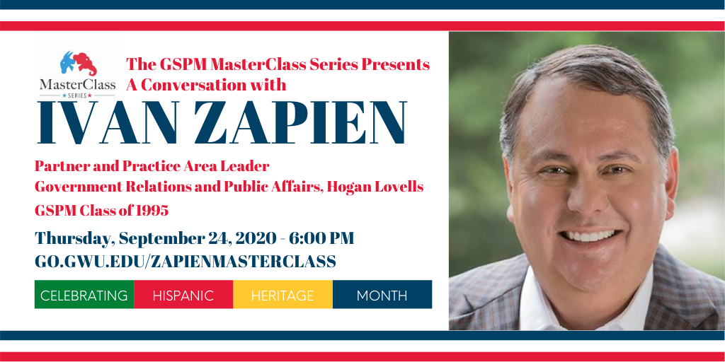 The GSPM MasterClass Series Presents A Conversation with Ivan Zapien