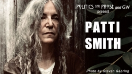 Singer and Author Patti Smith