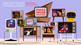 Dance Virtual Performance poster