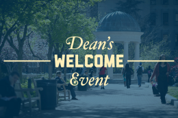 Dean's Welcome Event