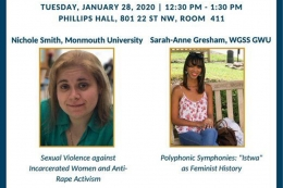 Tuesday, January 28, 12:30-1:30pm, Phillips Hall Room 411