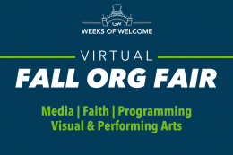 Fall Org Fair, Categories: Media & Publications, Visual & Performing Arts, Programming, Faith
