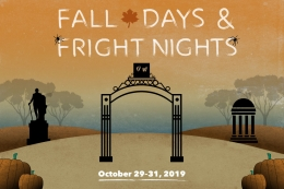 Fall Days and Fright Nights - GW Campus in fall