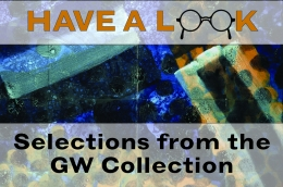 Have a Look: Selections from the GW Collection poster