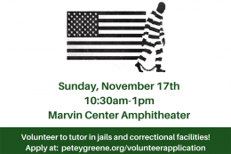 Sunday, November 17th 10:30am - 1pm Marvin Center Amphitheater