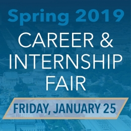 image of Spring 2019 Career and Internship Fair on January 25