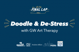 Doodle & De-Stress with GW Art Therapy