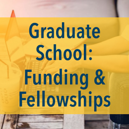 image of Graduate School Funding and Fellowships program on September 26