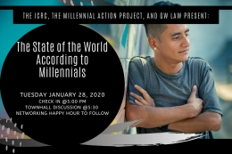 The State of the World According to Millennials: A Town Hall with the ICRC