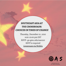 Southeast Asia at the Crossroads: Choices in Times of Change