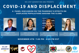 COVID-19 & Displacement Discussion Panel