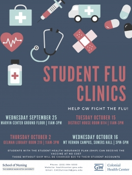 Flu Clinic Flyer 2019