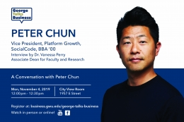 George Talks Business - Peter Chun - Vice President of Platform Growth at SocialCode