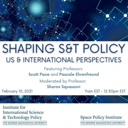 Shaping S&T Policy