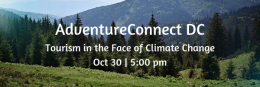 Tourism in the face of Climate Change - October 30 @ 5pm