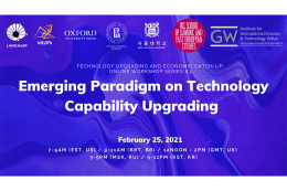 Emerging paradigm on technology capability upgrading