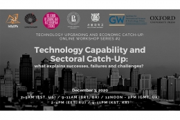 Science Technology Capabilities Sectoral Catch-Up