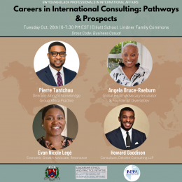 YBPIA Careers in International Consulting Event