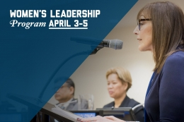 GW-CEPL Women's Leadership Program April 3-5, 2019 Register Today