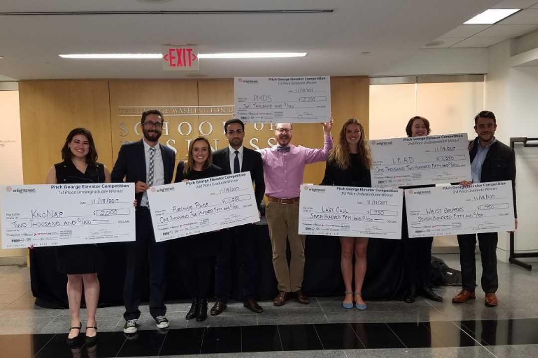 2018 Pitch George Competition | University Calendar | The