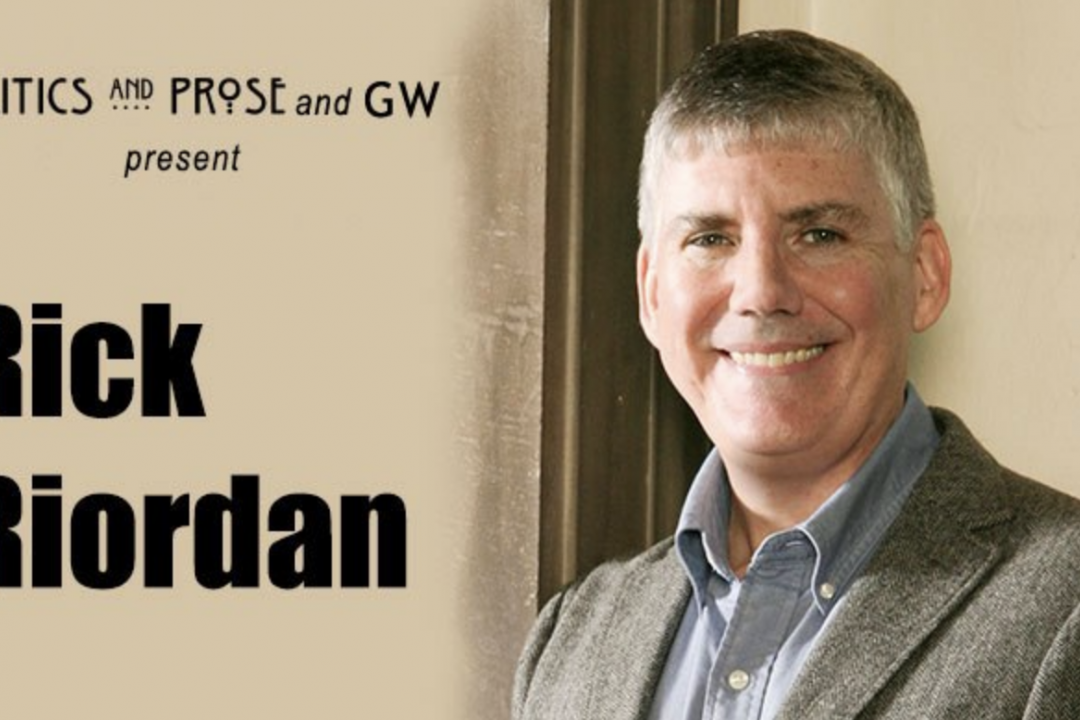 Author Rick Riordan - portrait