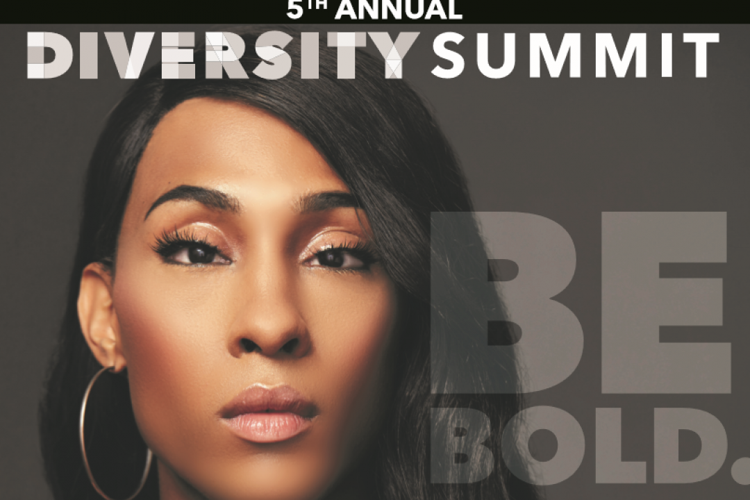 Diversity Summit - close up of MJ Rodriguez