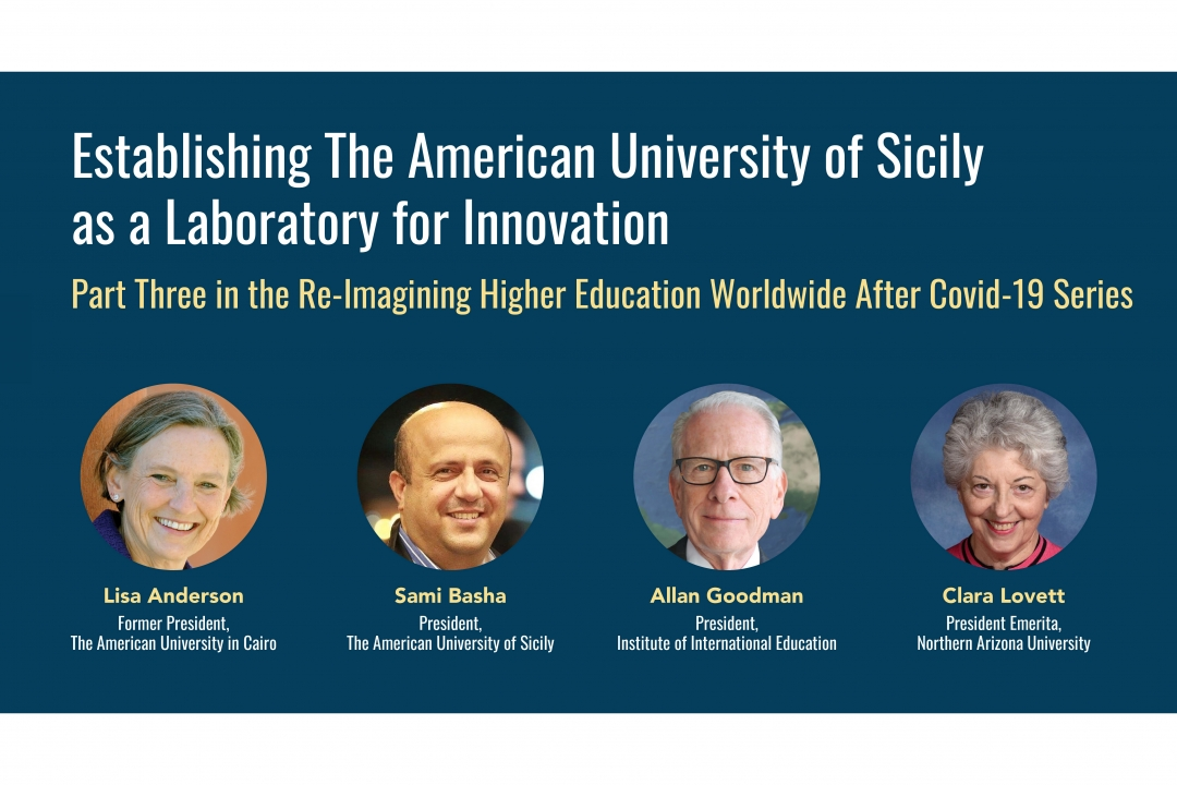 Establishing the American University of Sicily as a Laboratory for Innovation