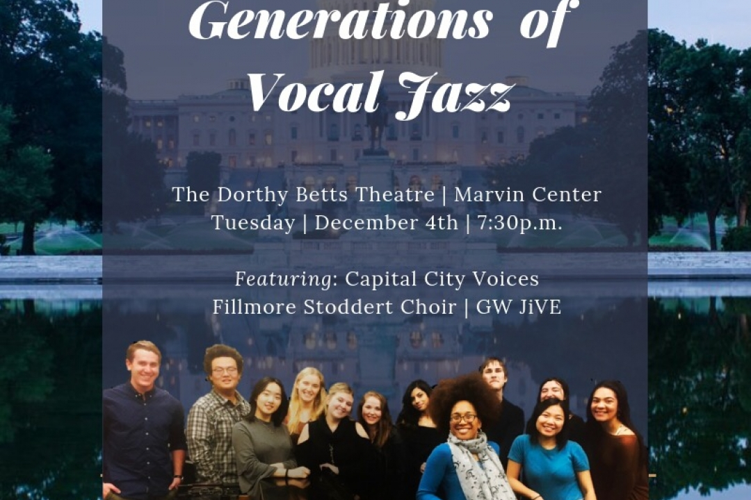 Generations of Vocal Jazz poster