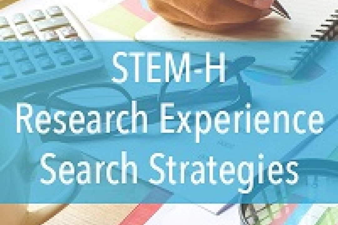 image of STEM and Health Research Experience Search Strategies event on September 12