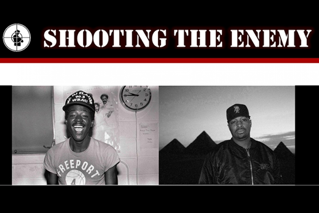 old photos of Flavor-Flav and Chuck D