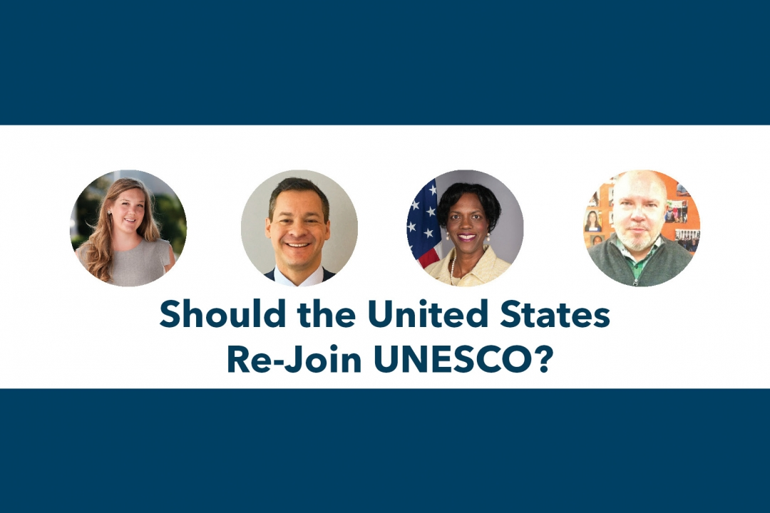 Should the United States Re-Join UNESCO?