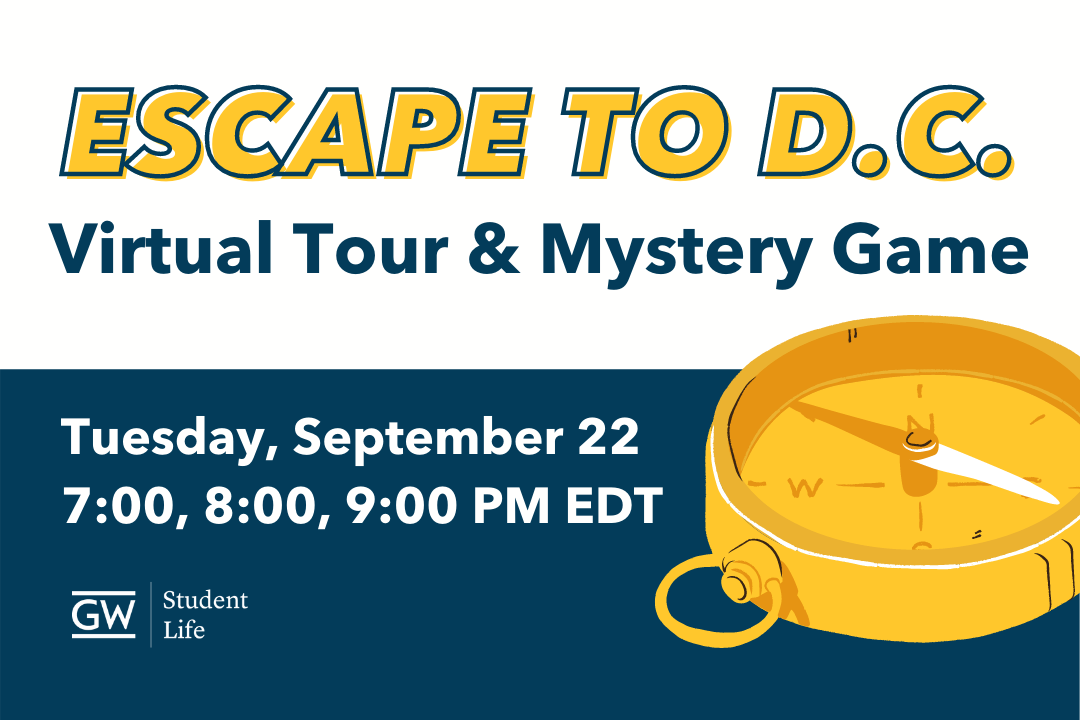Escape to D.C.: Virtual Tour & Mystery Game