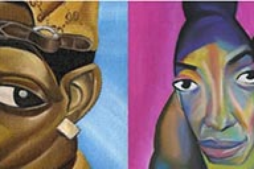 Examples of Alim Smith's paintings of African Americans