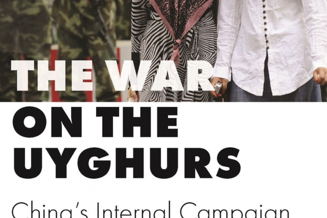 The War on the Uyghurs book cover by Sean R. Roberts