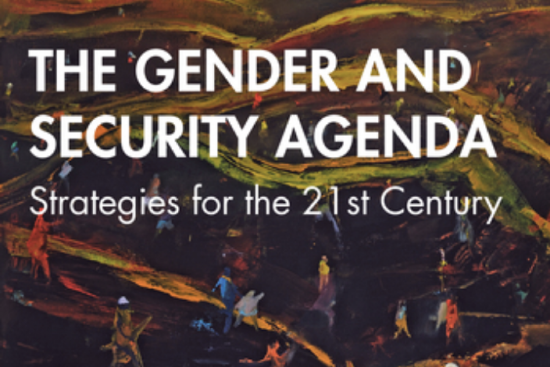 Gender and security agenda book cover
