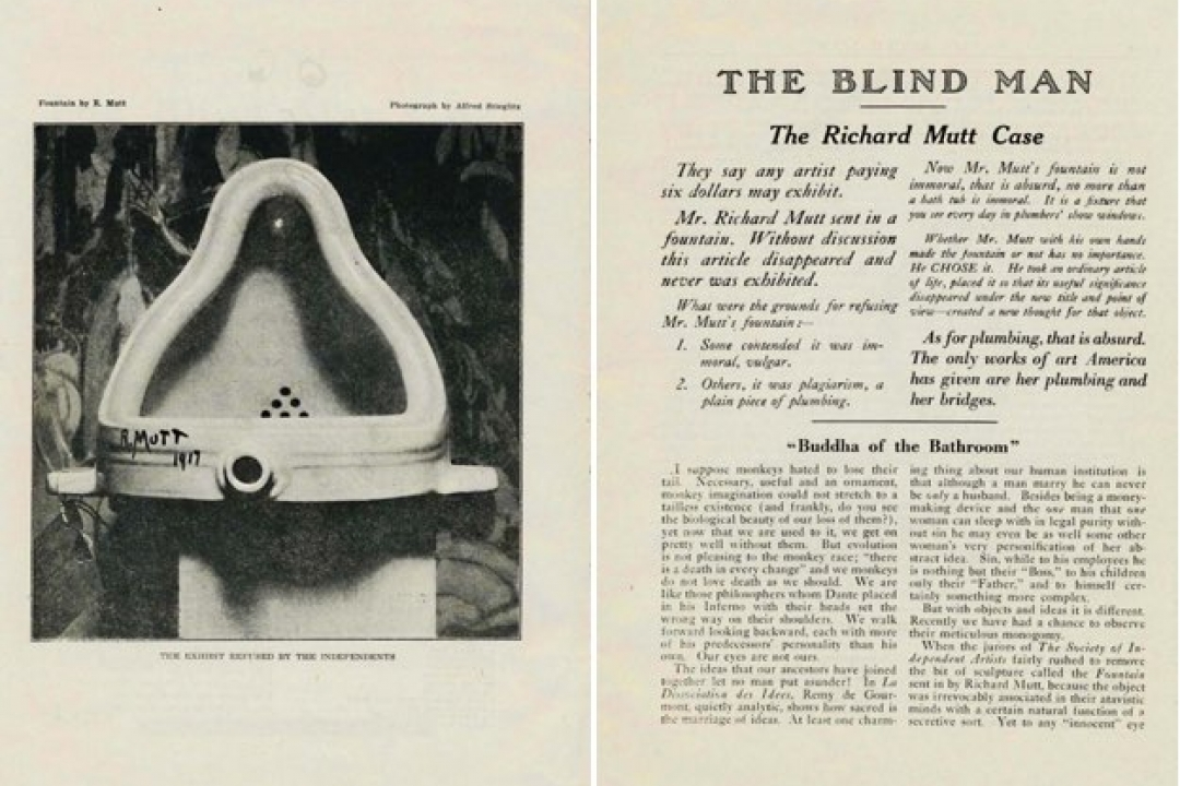 The Blind Man No. 2