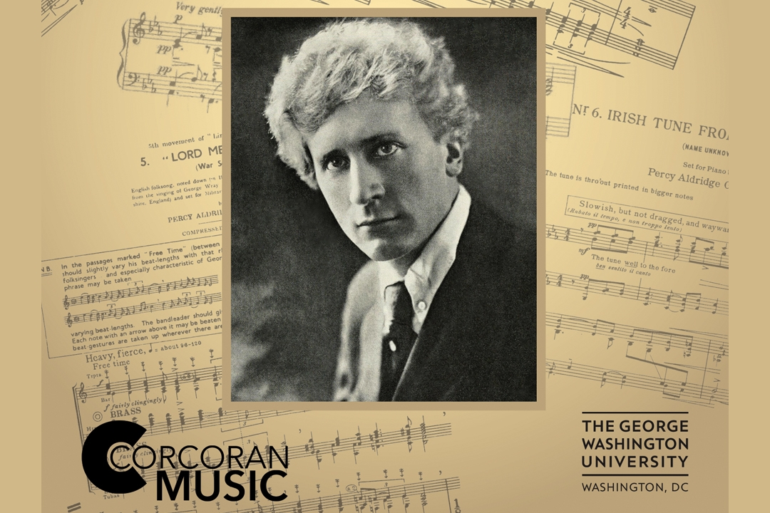 GW Bands: The Genius of Percy Grainger | University Calendar | The