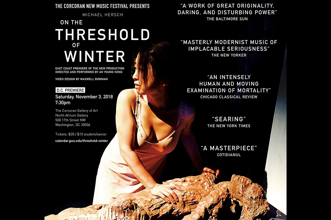 On the Threshold of Winter poster