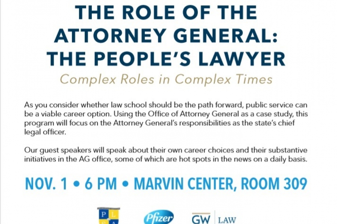 The Role of the Attorney General: The People's Lawyer | University