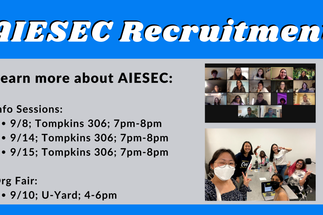 AIESEC Recruitment - Informational Sessions