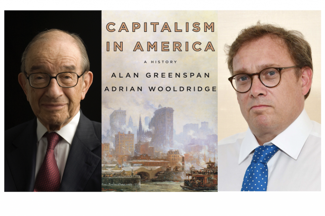 Capitalism in America - book cover