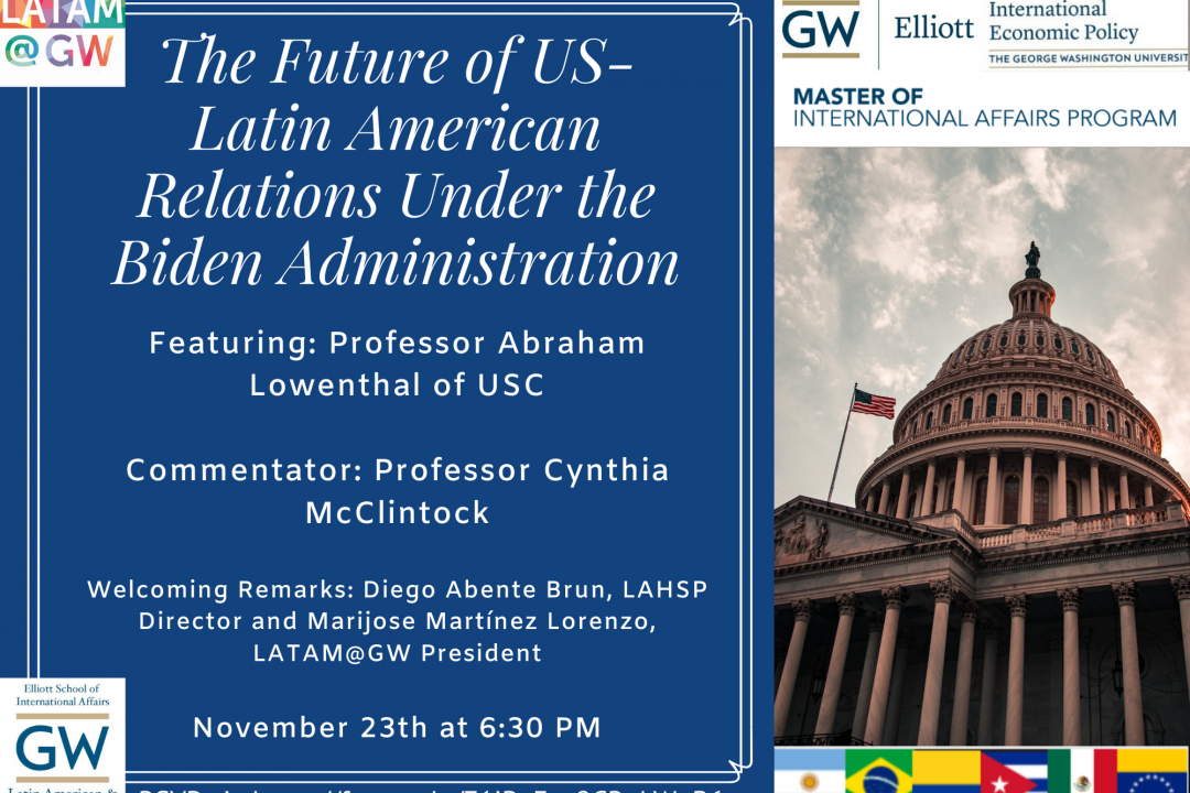 The Future of US-Latin America Relations