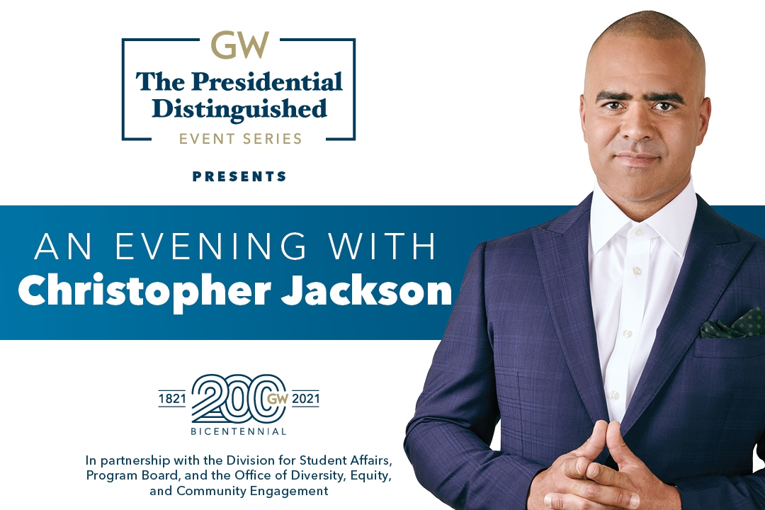 Presidential Distinguished Event Series presents - An Evening with Christopher Jackson